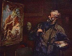 The Painter Honoré Daumier (1808-1879