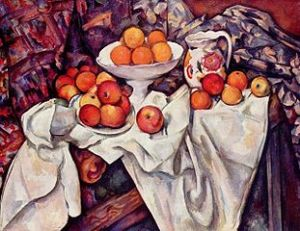 Apples and oranges. Paul Cézanne (1839–1906) Musée d'Orsay Bequest of Isaac de Camondo