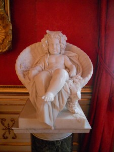 Angel from Potsdam Palace. Photo: Clare O'Donnell