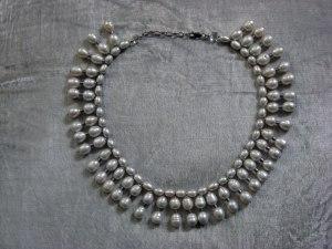 'Luna'White Rice Pearl