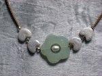'Finola'Jade, pearl and seed