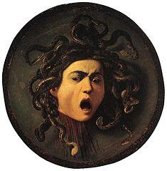 Caravaggio (1573–1610)  Medusa 1595-1596  Wikipedia.org