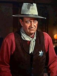 We've had movie stars here before John Wayne fm Howard Hawk's Rio Bravo Trailer Wikipedia.org