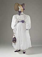 Woman's dress Europe c 1830 Los Angeles County Museum of Art