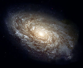 NGC 4414, a typical spiral galaxy in the constellation Coma Berenices, is about 55,000 light-years in diameter and approximately 60 million light-years away from Earth.NASA Headquarters - Greatest Images of NASA