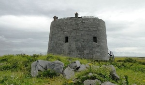 Martello Tower, Aughnish Wikimedia Commons