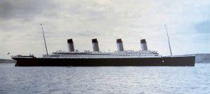 The Titanic pictured in Cobh Harbour, 11 April 1912 Cobh Heritage Centre, museum in Cobh, Ireland. Wikipedia.org