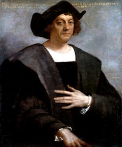 Christopher Columbus - 1519 Sebastiano del Piombo (1485-1547) Metropolitan Museum of Art wikipedia.org
