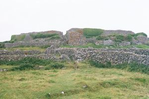Dún Chonchúir (Conor's Fort) Inishmaan Photo: Eckhard Pecher Wikimedia Commons