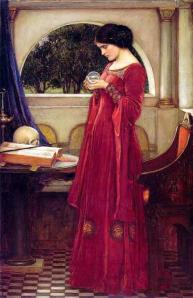 The Crystal Ball John William Waterhouse - 1902 Wikipedia.org