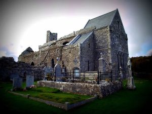 Corcomroe Abbey The Burren, Co Clare Photo: Shaun Dunphy Creative Commons
