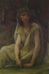 A Druidess Alexandre Cabanel 19th Century Wikimedia commons