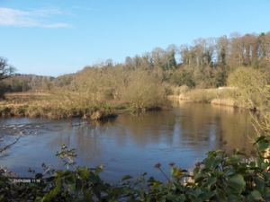 River Boyne - named after Boann Photo: Biekje