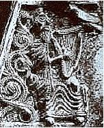 Maedoc book-cover, Ireland, circa 1000 AD