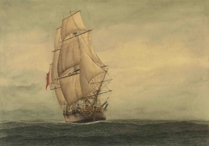 The Lady Penrhyn convict transport ship Gooreen collection Wikimedia Commons