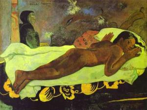 The Spirit of the Dead watches - 1892 Paul Gauguin (1848-1903) Albright Knox Art Gallery, Buffalo, New York Wikimedia Commons