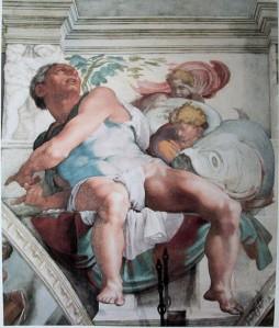 The Prophet Jonah Sistine Chapel (1471-1484) Michelangelo Buonarroti (1475 - 1564)