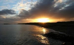Sunset, Galway Bay wallpapers.varjati.com