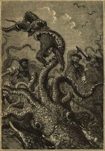 Image from Hetzel copy of Twenty thousand leagues under the sea (Jules Verne) Wikipedia.org