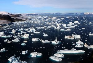 Icebergs, Cape York, Greenland Wikipedia.org