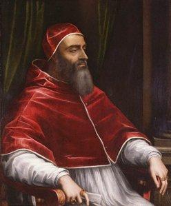 Pope Clement VII  - (Giulio di Giuliano de'Medici) by Sebastiano del Piombo - circa 1531