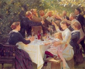 Hip, hip, hurra! Kunstnerfest på Skagen 1886 Peder Severin Krøyer (1851–1909) Gothenburg Museum of Art