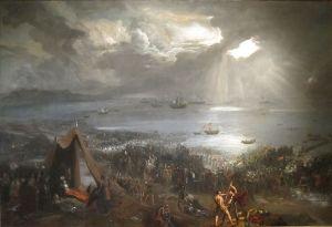 Battle of Clontarf - 1826 Hugh Frazer - Issacs Art Center, Wikimedia Commons