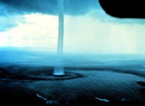Waterspout off the Florida Keys Image ID; wea00308 Historic NWS Collection Dr. Joseph Golden, NOAA Wikimedia Commons
