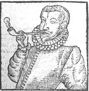 """From Chute's pamphlet """"Tabaco"""" 1595 Parker Burnette Wikimedia Commons"""
