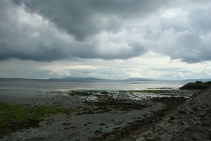 Galway Bay from Salthill Photo: Peter Clarke Wikimedia Commonw