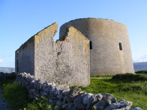Finavarra Martello Tower at Finavarra Point, County Clare, Ireland A McCarron Wikimedia Commons