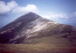 Croagh Patrick Photo: Bart Horeman Wikimedia Commons