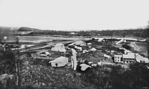 Townsville, North Queensland c 1870 Richard Daintree (1832-1878) John Oxley Library, State Library of Queensland. Wikimedia Commons