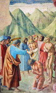 Cappella brancacci,  Date: from 1424 until 1428 Masaccio (1401–1428)