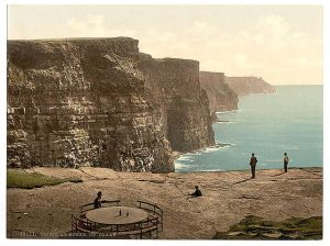 Cliffs of Moher 19th Century Wikimedia Commons