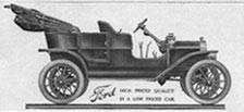Model T Ford - 1908 Wikimedia Commons