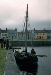Kinvara Harbour c1950 Cresswell archives