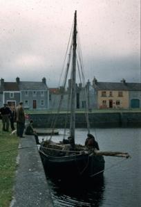 Kinvara Harbour c1950 Cresswell archives