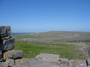 View from Dún Aengus, Inishmore Wikipedia.org