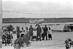 Corpus Christi Procession Kinvara Quay c 1950 Cresswell Archives