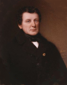 O'Connell,   MP for Clare 1828 - 1930 Painting by Bernard Mulrenin 1836