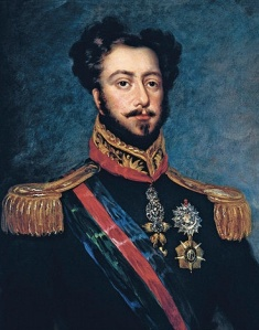 """Anônimo - D. Pedro, Duque de Bragança"" by Anon After John Simpson (1782-1847) - Wikimedia Commons -"