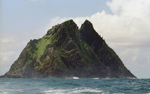 Skellig Michael Photo: Jerzy Strzelecki -Wikimedia Commons