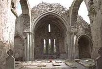 Corcomrue Abbey, The Burren Wikimedia.org
