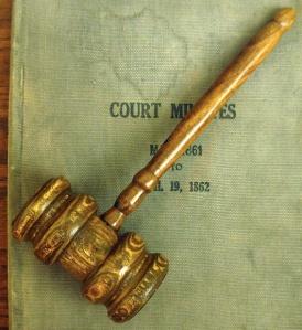 Court Gavel  Photo: Jonathunder  Wikimedia Commons