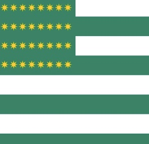 Fenian Flag 1867 by ArnoldPlaton   Wikimedia Commons