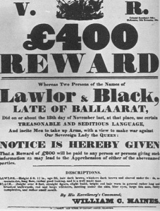 Reward notice Eureka Wikimedia Commons