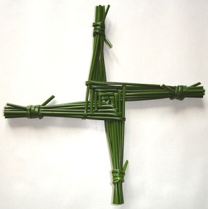 Saint Brigid's cross Photo: Culnacreann  Wikimedia Commons
