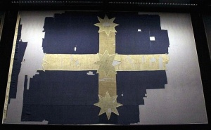 Eureka Flag  Art Gallery of Ballarat  Via Wikipedia