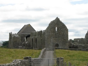 Knockmoy Abbey  Photo: Liam Murphy.   Wikimedia Commons